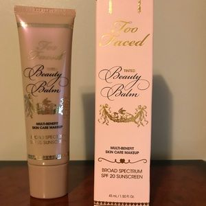 Brand New Never Used Too Faced Beauty Balm Makeup